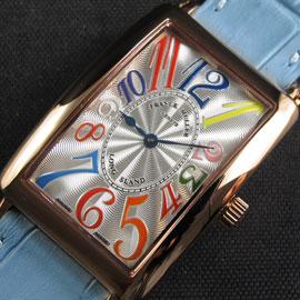 premium selection 56e0e d8a9a フランクミュラー ロングアイランド スイス RONDA クォーツ ...