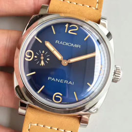 パネライ PAM 690Blue Sandwich Sunburst Dial 3 Day 1940 Acciaio 47mm(ZF工場)